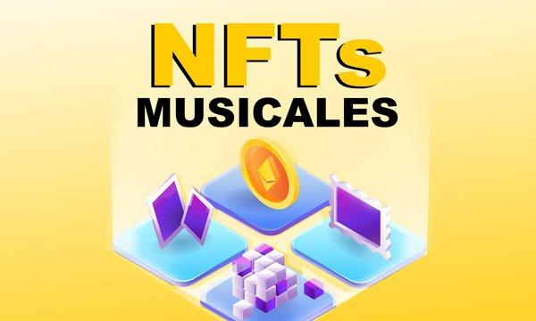 MUSICA, CRIPTOMONEDAS Y NFTs