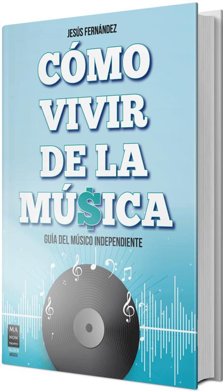 Como vivir de la música libro de Jesús Fernández
